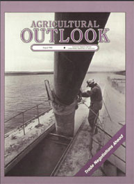 Agricultural Outlook : August 1986 Volume Issue August 1986 by Usda