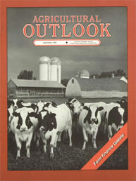 Agricultural Outlook : September 1986 Volume Issue September 1986 by Usda