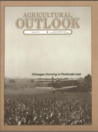 Agricultural Outlook : October 1986 Volume Issue October 1986 by Usda