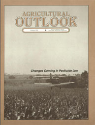 Agricultural Outlook : November 1986 Volume Issue November 1986 by Usda