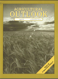 Agricultural Outlook : August 1987 Volume Issue August 1987 by Usda