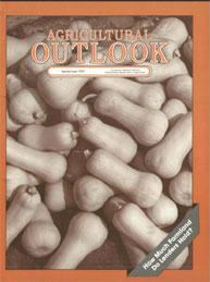 Agricultural Outlook : September 1987 Volume Issue September 1987 by Usda