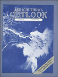 Agricultural Outlook : November 1987 Volume Issue November 1987 by Usda