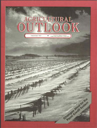Agricultural Outlook : December 1987 Volume Issue December 1987 by Usda