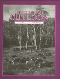 Agricultural Outlook : June 1988 Volume Issue June 1988 by Usda