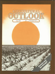 Agricultural Outlook : August 1988 Volume Issue August 1988 by Usda