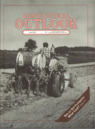 Agricultural Outlook : June 1989 Volume Issue June 1989 by Usda