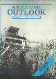Agricultural Outlook : September 1989 Volume Issue September 1989 by Usda
