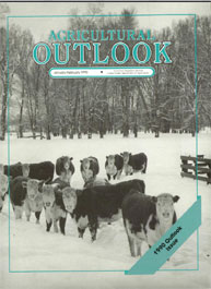 Agricultural Outlook : January February ... Volume Issue January-February 1990 by Usda
