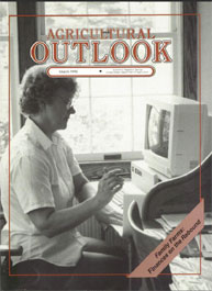 Agricultural Outlook : March 1990 Volume Issue March 1990 by Usda