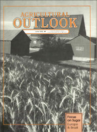 Agricultural Outlook : June 1990 Volume Issue June 1990 by Usda