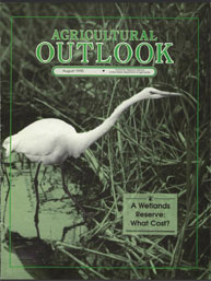 Agricultural Outlook : August 1990 Volume Issue August 1990 by Usda