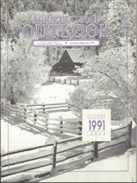 Agricultural Outlook : January-February ... Volume Issue January-February 1991 by Usda