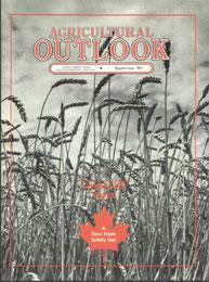 Agricultural Outlook : September 1991 Volume Issue September 1991 by Usda