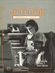 Agricultural Outlook : October 1991 Volume Issue October 1991 by Usda