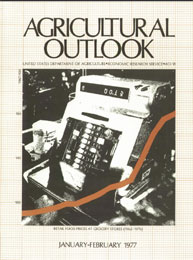 Agricultural Outlook : January-February ... Volume Issue January-February 1977 by Usda