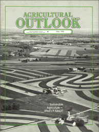 Agricultural Outlook : May 1992 Volume Issue May 1992 by Usda