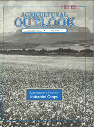 Agricultural Outlook : August 1992 Volume Issue August 1992 by Usda