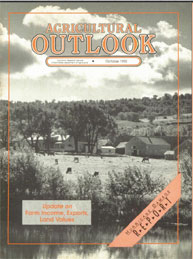 Agricultural Outlook : October 1992 Volume Issue October 1992 by Usda