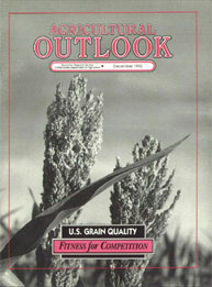 Agricultural Outlook : December 1992 Volume Issue December 1992 by Usda