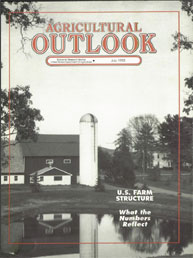 Agricultural Outlook : July 1993 Volume Issue July 1993 by Usda