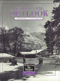 Agricultural Outlook : January-February ... Volume Issue January-February 1994 by Usda