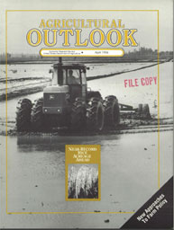 Agricultural Outlook : April 1994 Volume Issue April 1994 by Usda