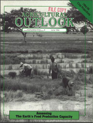 Agricultural Outlook : June 1994 Volume Issue June 1994 by Usda
