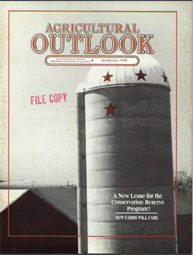 Agricultural Outlook : September 1994 Volume Issue September 1994 by Usda