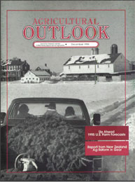Agricultural Outlook : December 1994 Volume Issue December 1994 by Usda