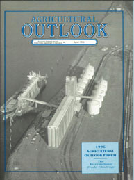 Agricultural Outlook : April 1996 Volume Issue April 1996 by Usda