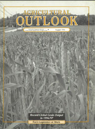 Agricultural Outlook : August 1996 Volume Issue August 1996 by Usda