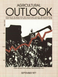Agricultural Outlook : September 1977 Volume Issue September 1977 by Usda