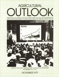 Agricultural Outlook : December 177 Volume Issue December 1977 by Usda
