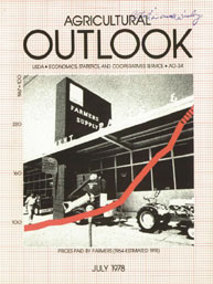 Agricultural Outlook : July 1978 Volume Issue July 1978 by Usda