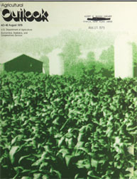 Agricultural Outlook : August 1979 Volume Issue August 1979 by Usda