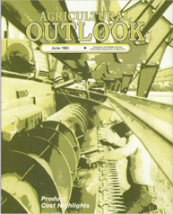 Agricultural Outlook : June 1981 Volume Issue June 1981 by Usda