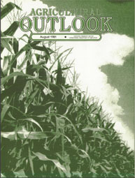 Agricultural Outlook : August 1981 Volume Issue August 1981 by Usda