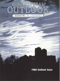 Agricultural Outlook : December 1981 Volume Issue December 1981 by Usda