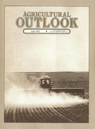 Agricultural Outlook : April 1982 Volume Issue April 1982 by Usda