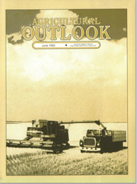 Agricultural Outlook : June 1982 Volume Issue June 1982 by Usda