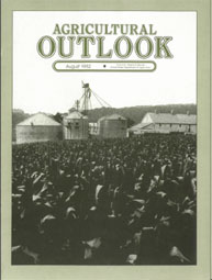 Agricultural Outlook : August 1982 Volume Issue August 1982 by Usda