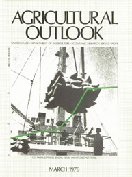 Agricultural Outlook : March 1976 Volume Issue March 1976 by Usda
