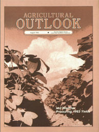 Agricultural Outlook : August 1983 Volume Issue August 1983 by Usda