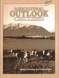 Agricultural Outlook : September 1983 Volume Issue September 1983 by Usda