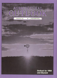 Agricultural Outlook : December 1983 Volume Issue December 1983 by Usda