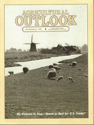 Agricultural Outlook : January-February ... Volume Issue January-February 1984 by Usda
