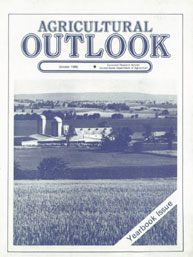 Agricultural Outlook : Yearbook Issue Oc... Volume Issue Yearbook October 1986 by Usda
