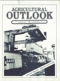 Agricultural Outlook : Special Reprint D... Volume Issue Special Reprint December 1985 by Usda