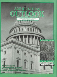 Agricultural Outlook : Speical Reprint N... Volume Issue Special Reprint November 1996 by Usda
